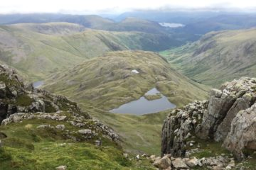 Great End - Scafell Pike - Great Gable (wild camping)
