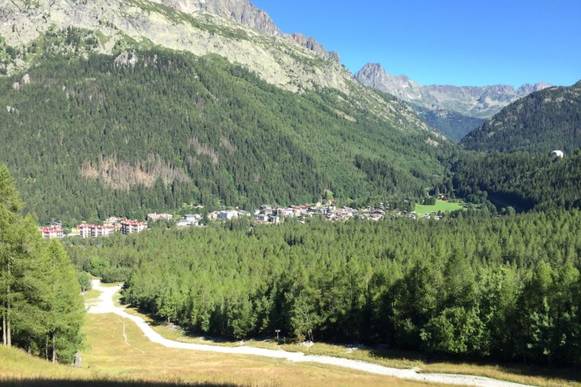 View to Argentière