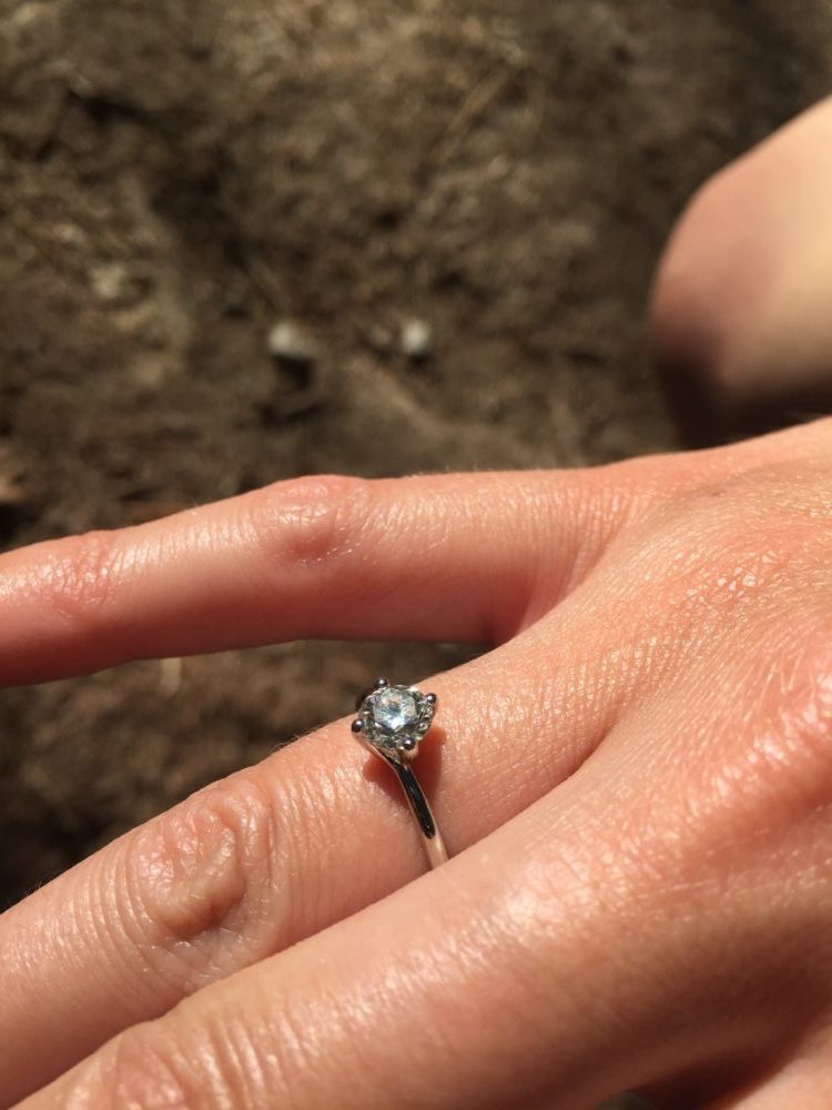 sara's beautiful ring