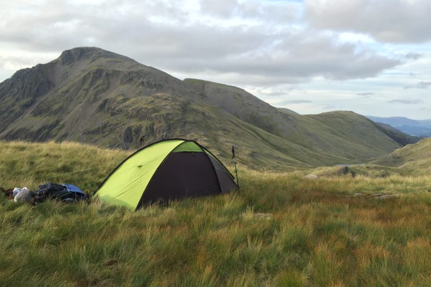 camping spot by Corridor Route