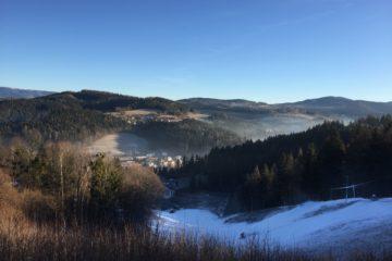 Hills of Valašská Bystřice