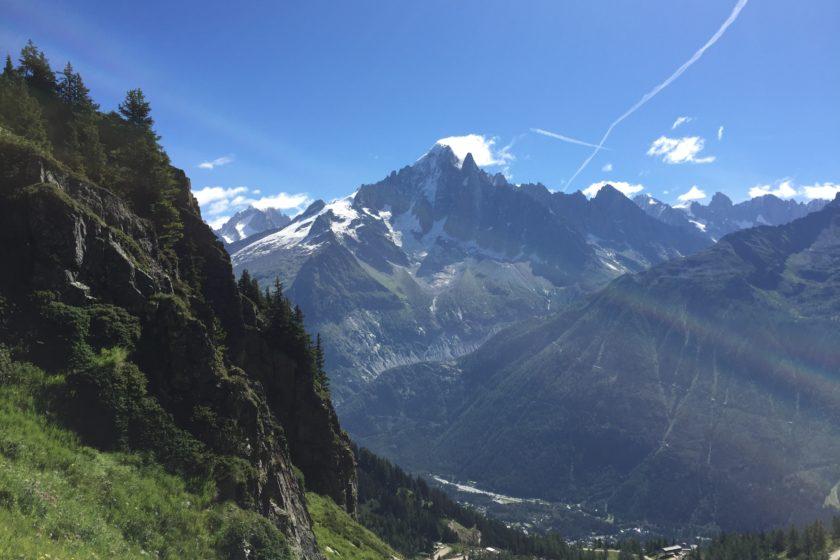 View of Aiguille Verte