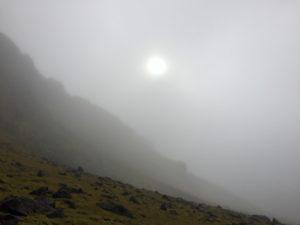 Skaftafell in fog