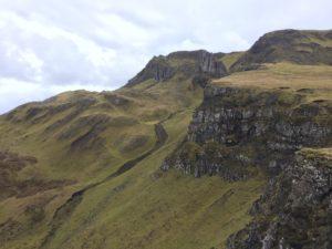 ridge in isle of skye