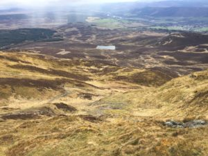 Stairs to Ben Vrackie