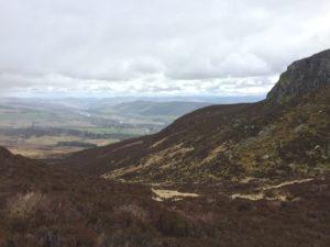 path from Loch a´Choire