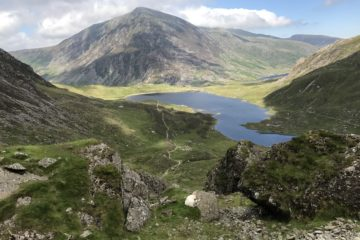Llyn Idwal from Devil's Kitchen