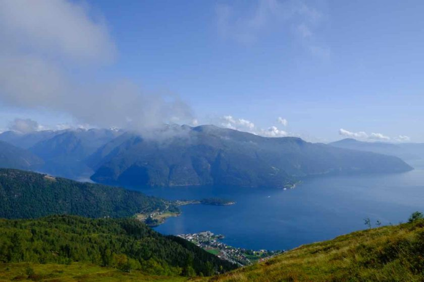 balestrand and sognefjord