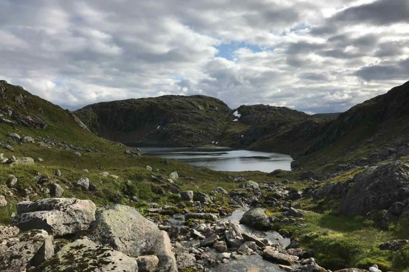 Fagravatnet lake
