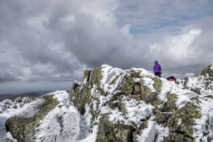 Top of Sca Fell