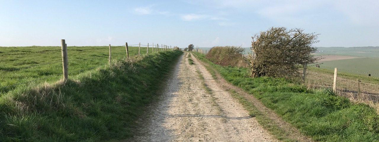 MTB route around Brighton