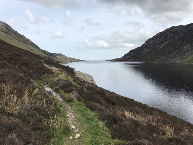 path along Llyn Cowlyd