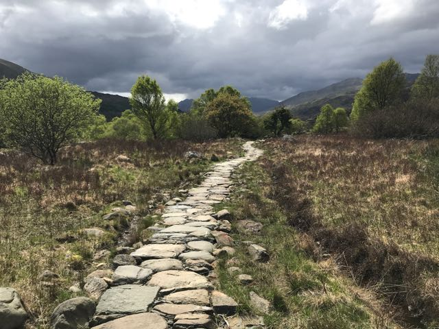 path to Capel Curig