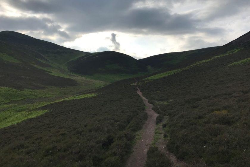 Pentland Hills track