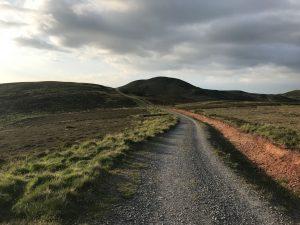Pentland Hills tarmac