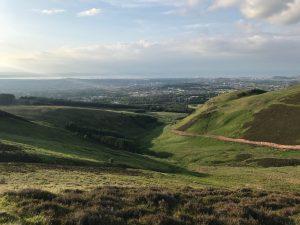 Edinburgh from Pentland Hills