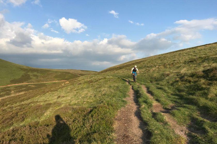 sun in Pentland Hills