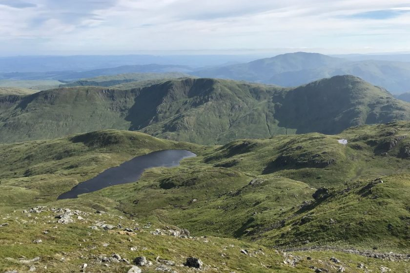 View from Stuc a'Chroin