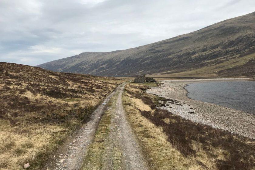 ruin by Loch Eilde Beag