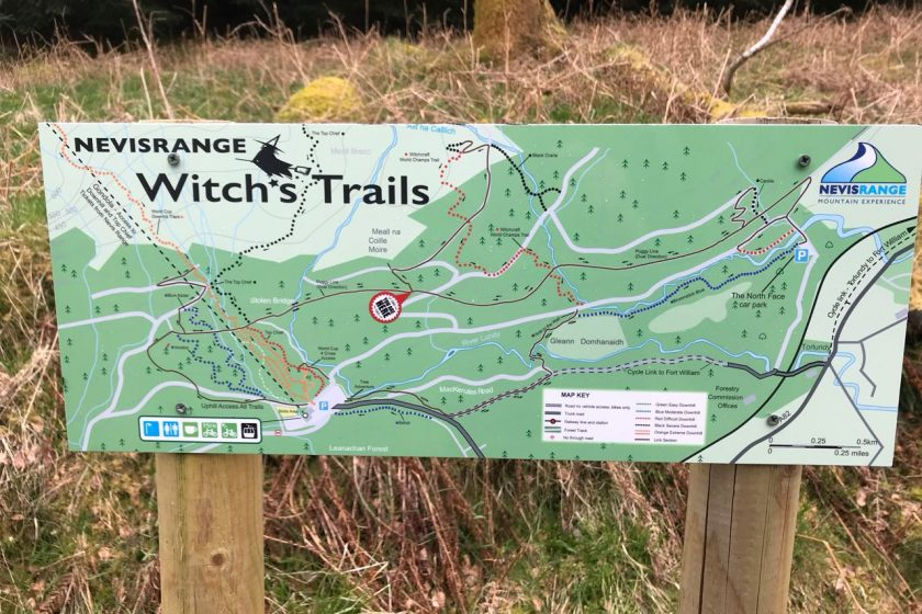 Witch's Trails - Nevis Range