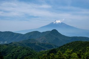 Mt fuji from Hakone