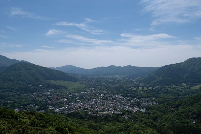 view at Sengokuhara
