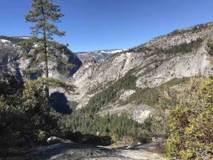 View from Nevada Fall