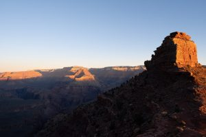 Grand Canyon before the sunset