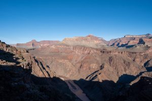 Colorado River from the South Kaibab Trail