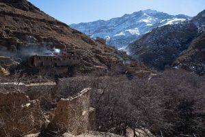 Atlas village, morocco