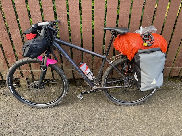 My Focus Whistler turned into a touring bike