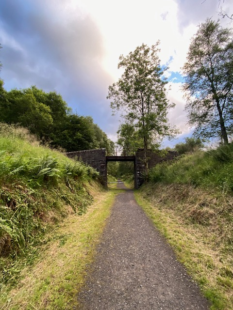 Great North Trail - bridge in the middle of nowhere