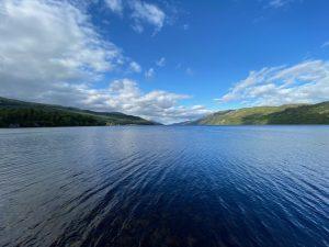loch in the highlands