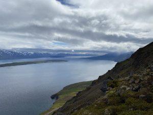 the view of Eyjafjörður Fjord
