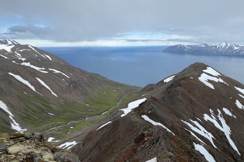 hiking trip near Akureyri